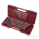Hex Key Ball End Set 10pce